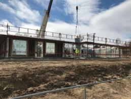 Heising elementer for Røros Bygg AS på Røros Park