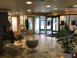 Inngangspartiet Rørosbanken